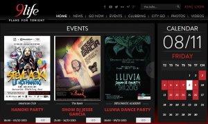 Thiết kế web cho 9life.vn