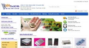 Web shop bán buôn bán lẻ link kiện điện tử