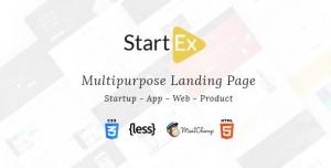 StartEx | Multipurpose Landing Page