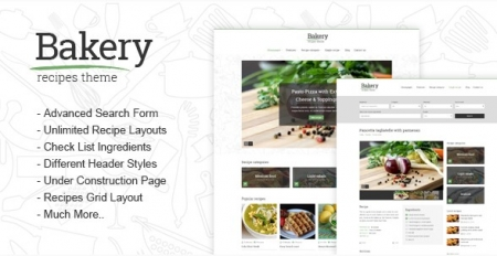 Bakery - Responsive Recipes