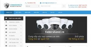 Mẫu thiết kế bán camera an ninh
