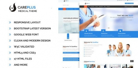 Careplus - Medical Template