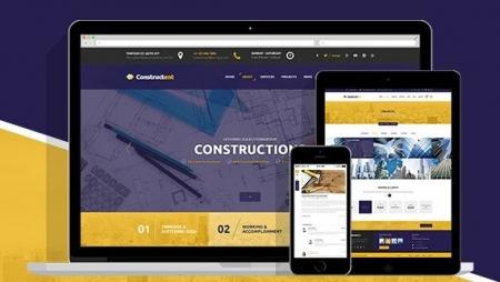 Constructent - Responsive Construction