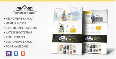Constructioner - Modern Construction HTML Template