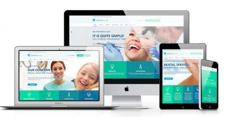 DentalClinic - Responsive Clinic