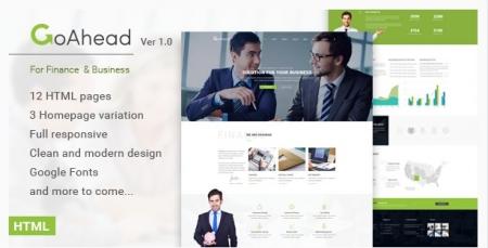 GoAhead - Finance & Business