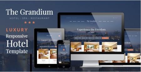 Grandium - Responsive Hotel Template