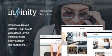 Infinity - Stylish & Modern Magazine