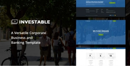 Investable | A Versatile Corporate, Business and Banking