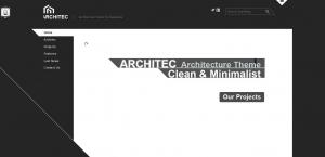 Architec -  Mẫu thiết kế web công ty kiến trúc