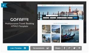 Gofar -  mấu website về du lịch