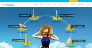 Travelo -  Mẫu webiste du lịch