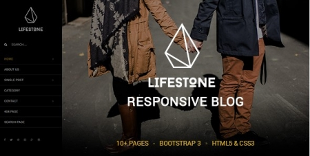 Lifestone - A Responsive Blog