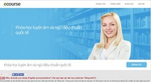Thiết kế web cho trung tâm dạy tiếng anh