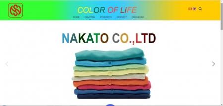 Mẫu thiết kế web công ty may