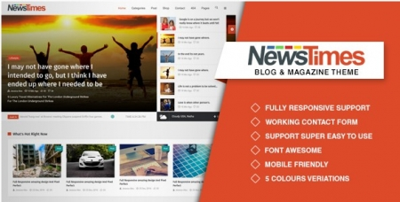 NewsTimes- A News and Magazine