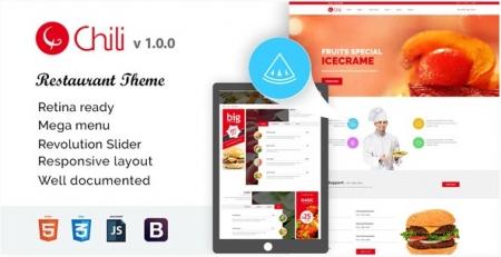 RedChili HTML5 Responsive Restaurent Template