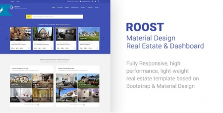 Roost Material Design Real Estate
