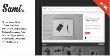 Sami - Premium Blog/Magazine