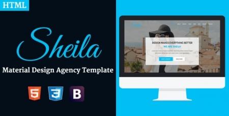 Sheila - Material Design Agency