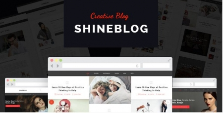 ShineBlog - Blog & e-Commerce