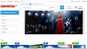 Web bán điện máy online