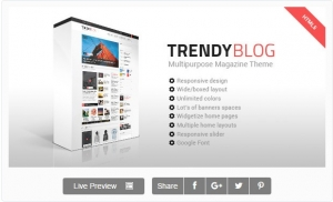 TrendyBlog - Multipurpose Magazine Template
