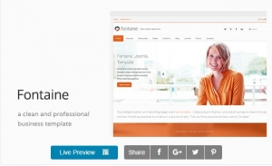 Fontaine - Clean Business HTML Template
