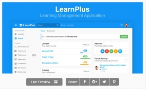 LearnPlus - Learning Management Application