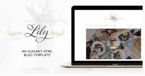 Lily - Elegant Blog HTML Template