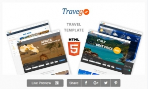 Travego - Travel Theme Responsive
