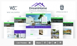 DreamHome - Single Property HTML Template