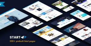 StartUp - Basic Business HTML5 & CSS3 Template
