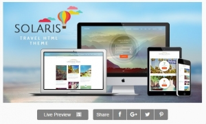 Solaris | Travel Agency Site Template