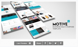 Motive - Responsive Business Template