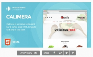 IT Calimera - Restaurant, Bar, Coffee Shop & Food HTML Template