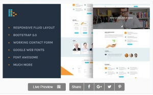 Bplus: Business & Consultancy HTML Theme