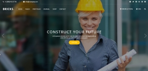 Construction & Building HTML Template - Bricks