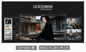 Photography Website Template - GoodWin
