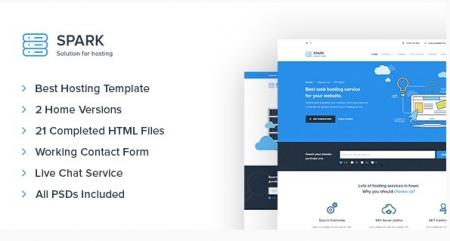 Spark - Hosting, Domain, Technology Site