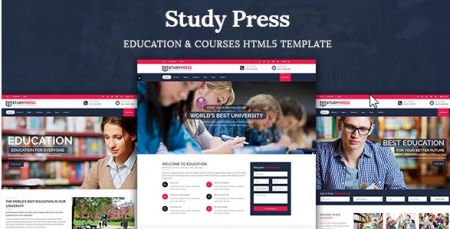 StudyPress - Education & Courses