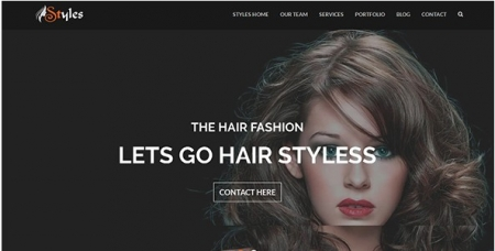 Styles - Template for Beauty Hair Saloon and Barber Shop