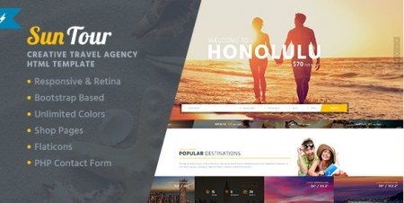 SunTour - Creative Travel Agency