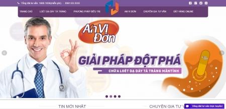 Thiết kế web bán hàng thực phẩm chức năng dược phẩm