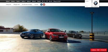 Thiết kế web bán xe hơi