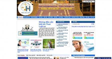 Thiết kế web tin tức tổng hợp