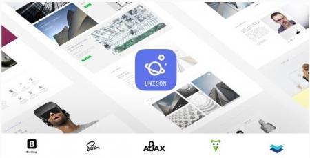 Unison - Material Design Portfolio