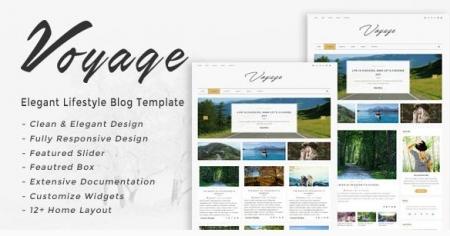 Voyage - Elegant Lifestyle Blog