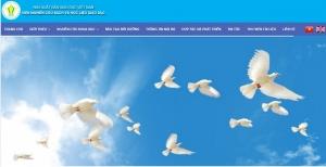Thiết kế web mobile giới thiệu công ty song ngữ