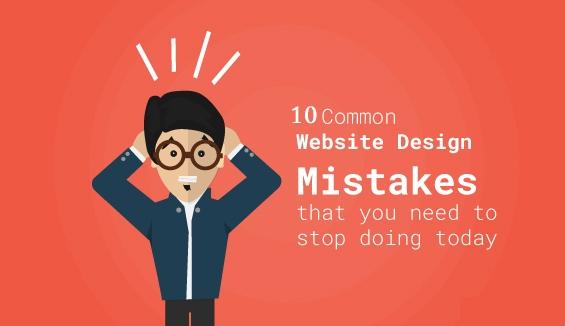10 lỗi khiến website kinh doanh của bạn kém hiệu quả